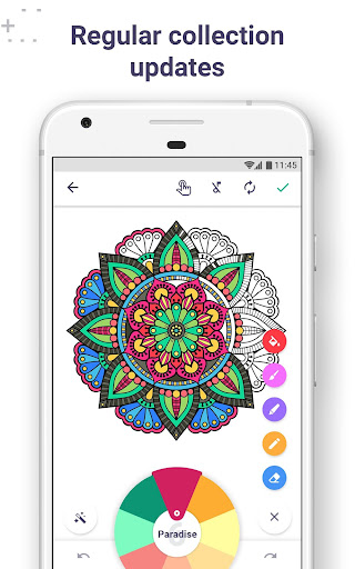 Coloring Book for Me & Mandala 4.2 screenshots 2