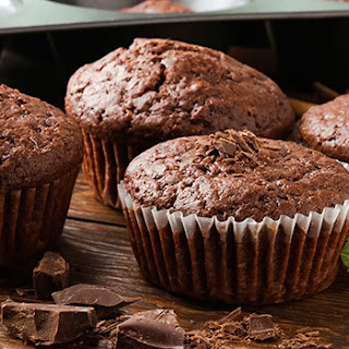 Chocolate Peppermint Muffins