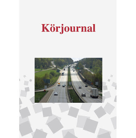 Körjournal A5 32blad