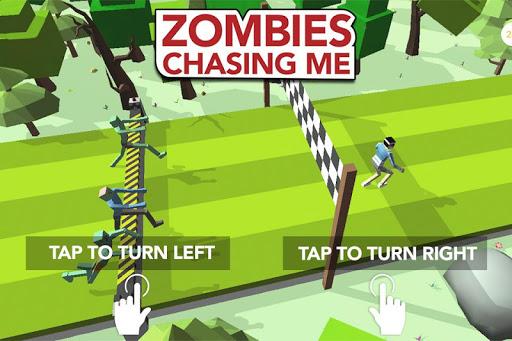 Zombies Chasing Me screenshot 1
