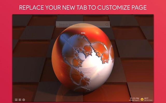 3D Wallpaper HD Custom New Tab