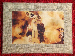 Photo: Stampa su stoffa trattata con caffè.  DISPONIBILE  Per informazioni e prezzi: manualedelrisveglio@gmail.com