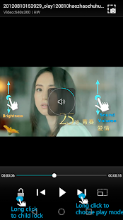 PlayerX Video Player - náhled