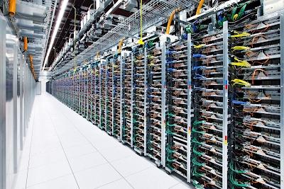 Racks de servidores do Condado de Mayes