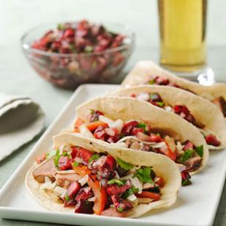 Pork Tenderloin With Fresh Cherry And Chile Salsa Recipes — Dishmaps