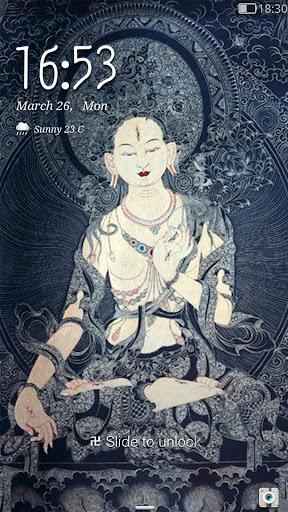 Buddhism - iDo Lock screen