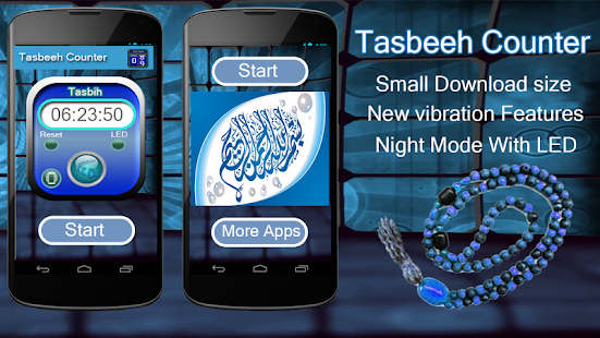 Click Counter-Digital Tasbeeh Counter Free App - náhled