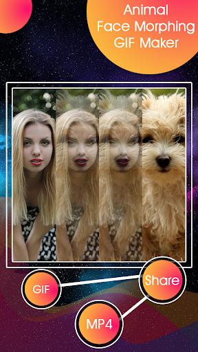 Animal Face Morphing - GIF Maker 1.0 screenshots 1