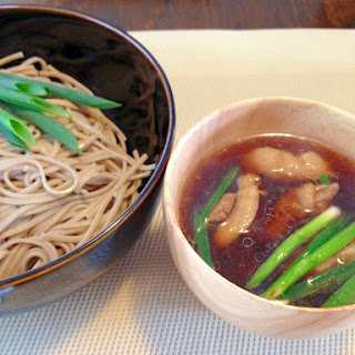 Dipping Noodles with Duck Soup