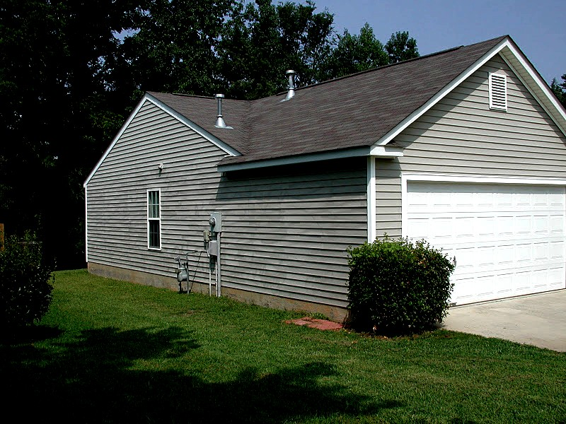 Photo: 8/12/2015 This Home Was Washed By One of The Local Companys Thats Useing Our Name ( Pressure Washing Charlotte ) As Part of There Company Name (And This Has Caused Us Major Headaches In The Passed) And This Is A Good Example Why When The Home Owner Called Us(Thinking We Were Them)There Was Nothing We Could Do to Help,The Vinyl Siding Was Messed Up So Bad It Could Not Be Repaired The Young Inexperienced Contractor Used Way To Much Pressure(Damage $2400.00) This Company Is Still Actively Washing Homes In Charlotte To Day So Dont Be Fooled By Others Useing Our Good Name Fishing For Your Business In No Way Are We Affiliated With Liable Or Responsible For Work or Damage Done By Zapit or J B Power Wash or Any Other Company In The Charlotte NC Area That's Using Our Name Pressure Washing Charlotte In There Advertising To Mislead You About Who They May Be! Know Whos Comeing To Your Home! We Are Proud to Be Pressure Washing Charlotte The Ones That Have Been Washing Charlotte Homes With Safe Low Pressure For 18 Years