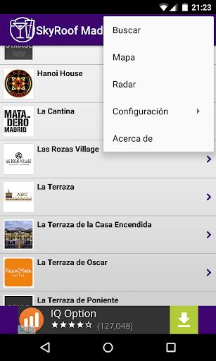 SkyRoof Madrid Rooftop Bars And Bar Terraces screenshot