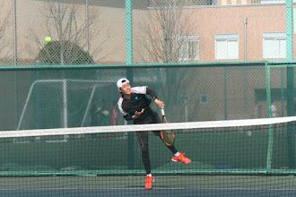 Photo: 松尾(1年)は1回戦敗退。
