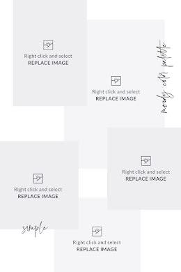 Simple & Plain Inspiration - Mood Board item