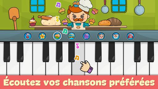 Piano bébé – jeux pour enfants  captures d'écran 1