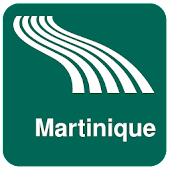 Martinique Map offline