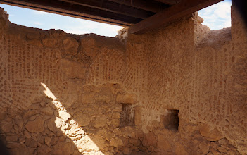Photo: Byzantine Church at Masada