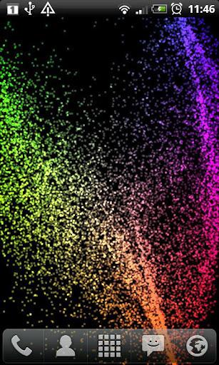 Radiant Particles screenshot