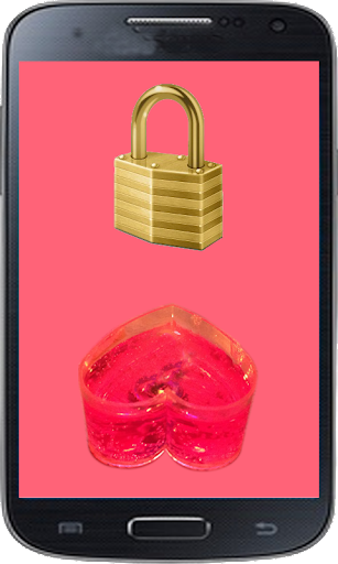 Candle Heart Lock