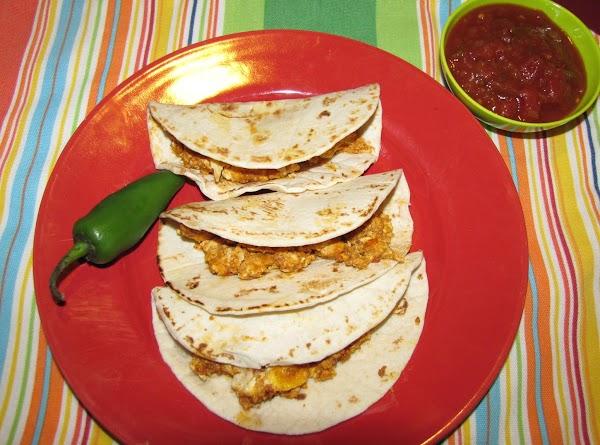 Tex Mex Chorizo And Egg Taquito's Recipe
