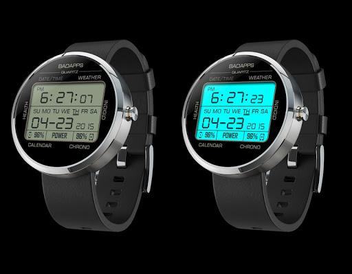 BadApps Quartz Watch Face