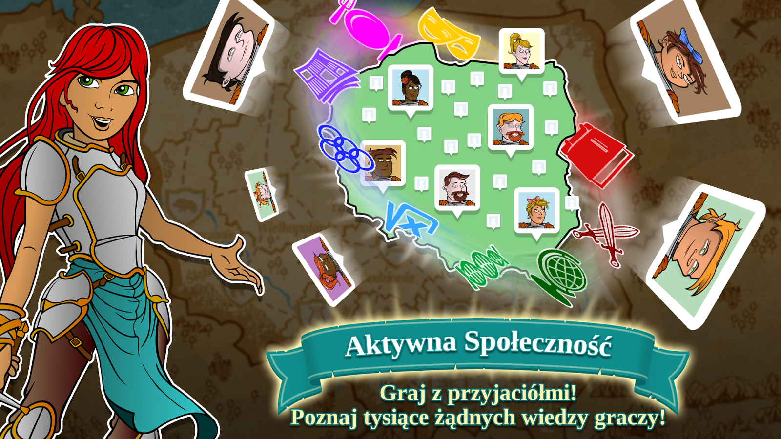 Triviador Polska- screenshot