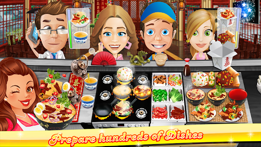 The Cooking Game v1.5.4 (Mod Money)