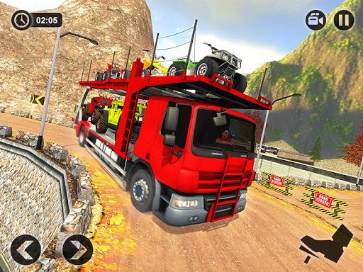 Vehicle Transporter Trailer Truck Game 1.4 screenshots 7