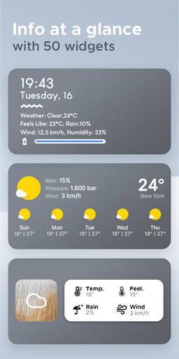 Overdrop Weather & Alerts - Real Time Forecast 1.5.1 screenshots 4