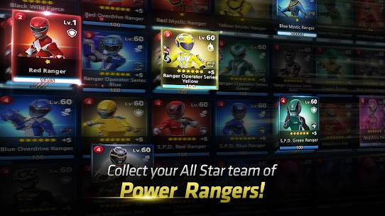 Power Rangers: All Stars v1.0.5 [MOD] 3