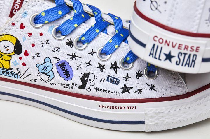 converse shoes bt21