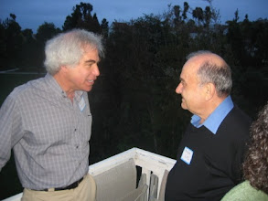 Photo: Professors Mark Machina and Mordecai Kurz