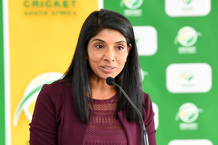 CSA acting CEO Kugandrie Govender is leading the way for the women in cricket.