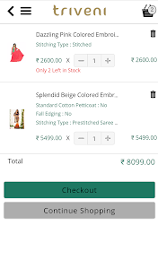 Triveni Ethnics Shopping App screenshot 7