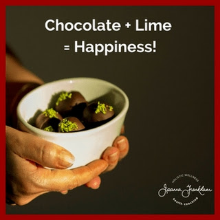 LUSCIOUS Lime Chocolate Truffles