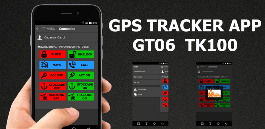 Download GT06 TK100 TK102 TK103 TK303 PRO trackers APK latest version 0 0 3  for android devices