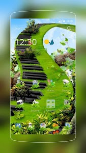 Butterfly Green Piano screenshot 0