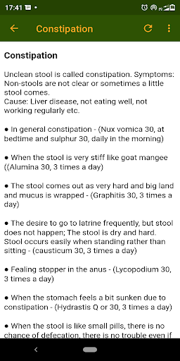 Homeopathy treatment yourself easy to all peoples. screenshot 5