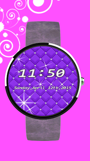 Beautiful Rhinestone watchface