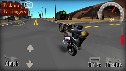 Wheelie King 4 - Moped Madness 3D 1 screenshots 2