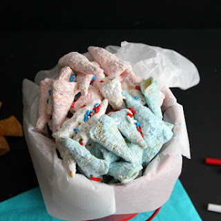 Firecracker Muddy Buddies #SundaySupper