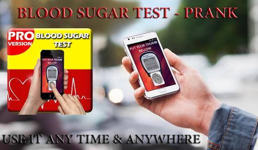 blood sugar test - prank