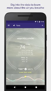 Plume Air Report - Live and forecast smog reports: miniatura de captura de pantalla