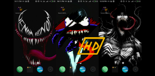 Wallpaper with a well-known Venom.