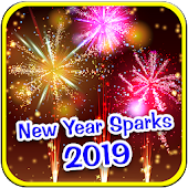 New Year 2019 Sparks Wallpapers