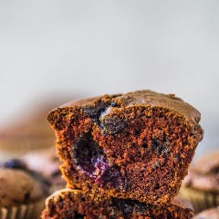 Chocolate Blueberry Muffins Recipe