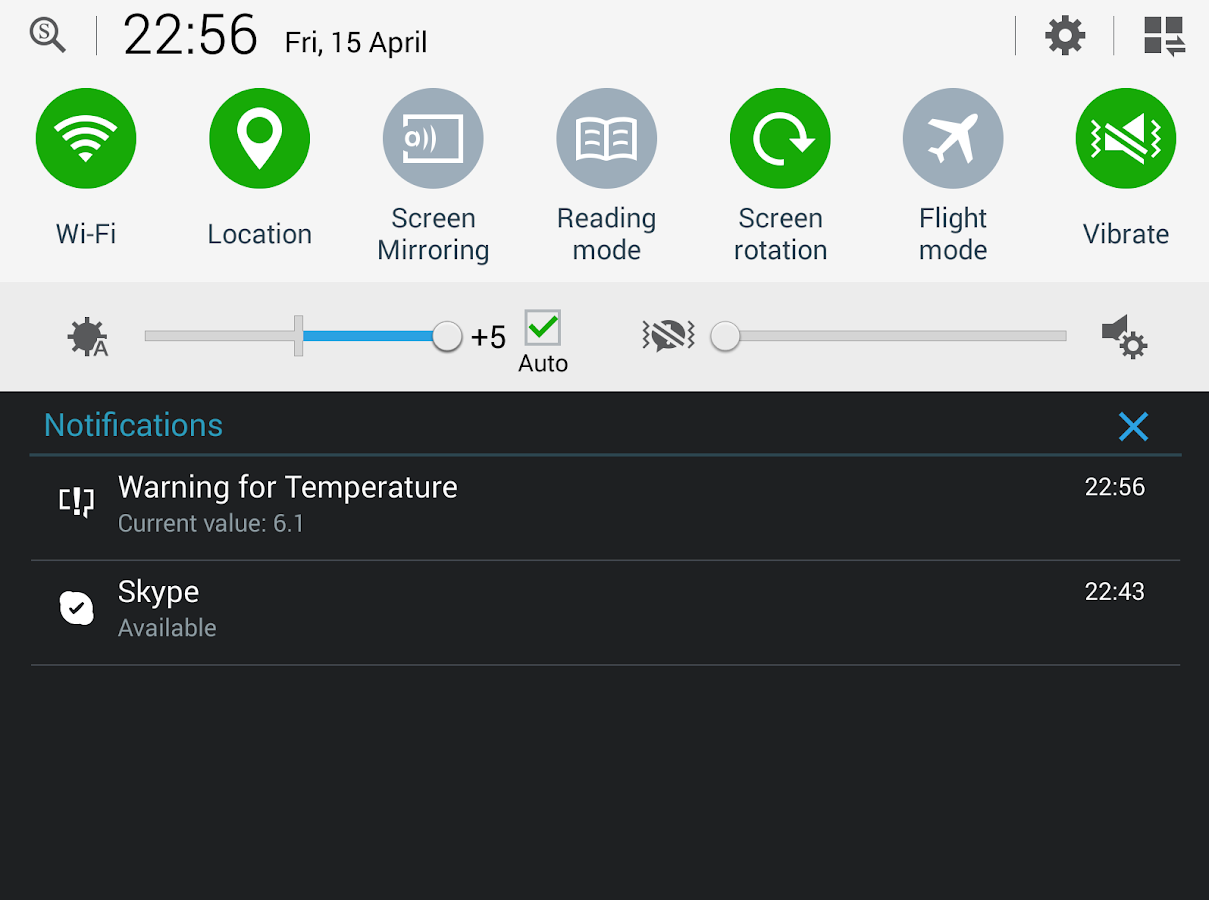 IoT ThingSpeak Monitor Widget- screenshot