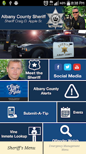 Albany County Sheriff's Office- screenshot thumbnail