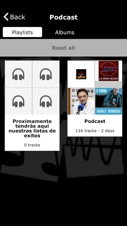 Radio Los Yebenes- screenshot
