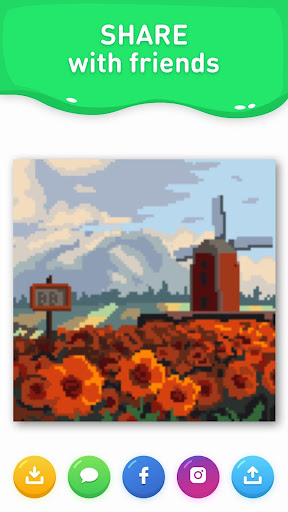 Paint the world - color by number colouring game apkdebit screenshots 3