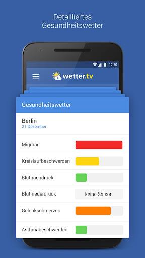 wetter.tv - Wetter Deutschland 2.0.8. screenshots 3